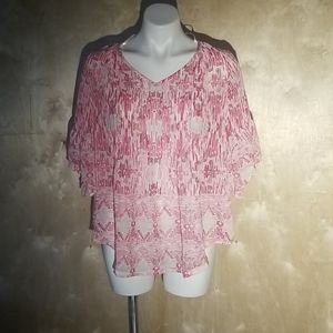 NWT style & co sheer top